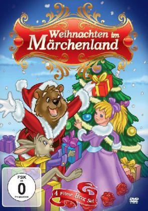 Weihnachten im Märchenland - 4 Filme Box