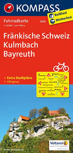 Fränkische Schweiz - Kulmbach - Bayreuth 1 : 70...