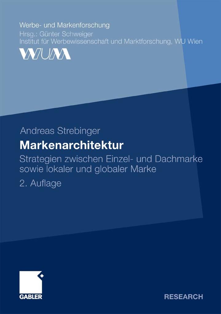 Markenarchitektur als eBook Download von Andrea...