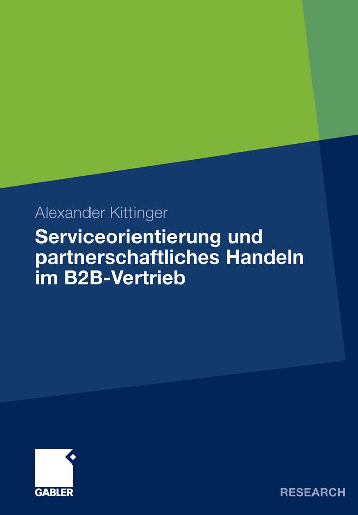 Serviceorientierung und partnerschaftliches Han...