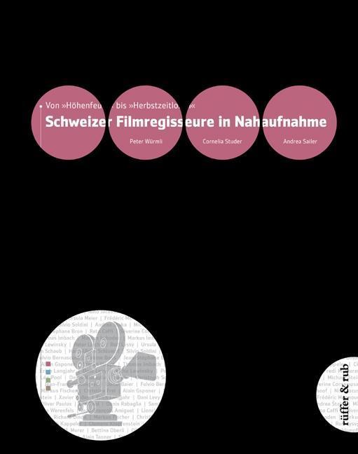 Schweizer Film-Regisseure in Nahaufnahme als Bu...