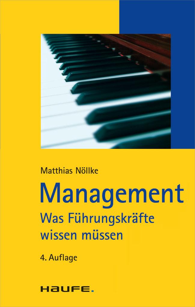 Management als eBook Download von Matthias Nöllke