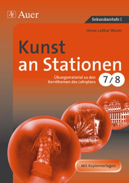 Kunst an Stationen als Buch von Heinz-Lothar Worm