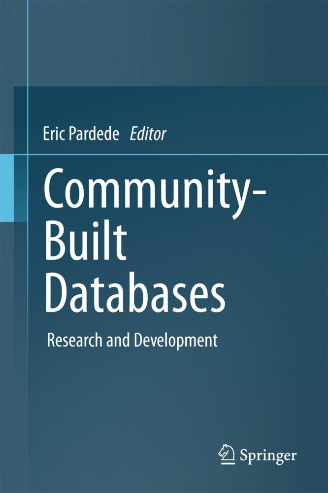 Community-Built Databases als Buch von
