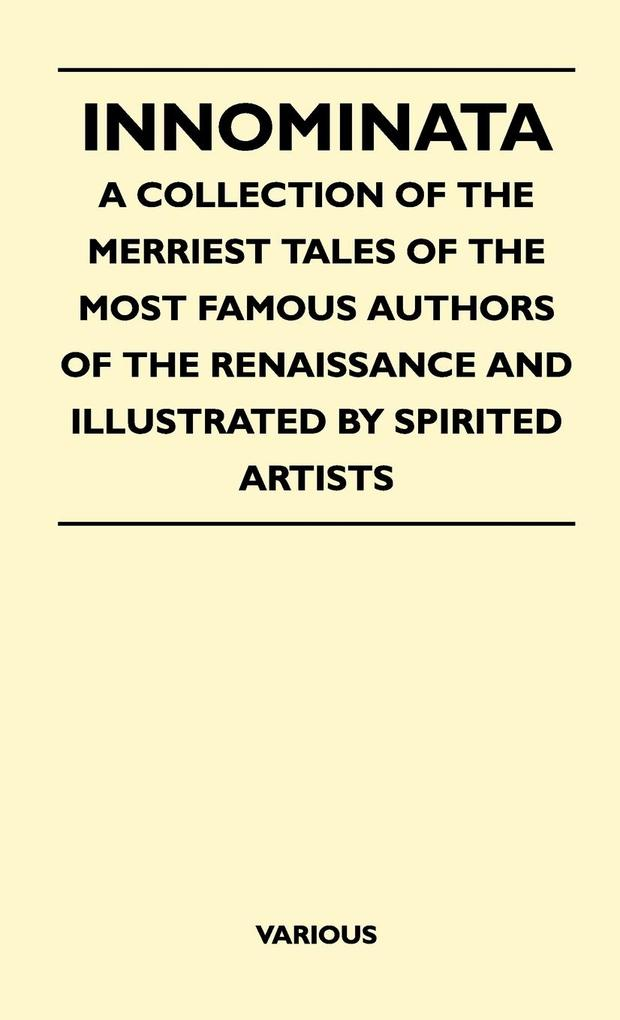 Innominata - A Collection of the Merriest Tales...