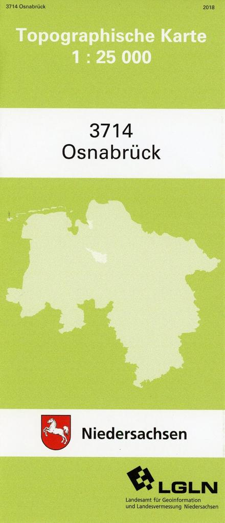 Osnabrück 1 : 25 000 als Buch von