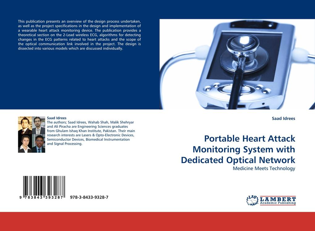 Portable Heart Attack Monitoring System with De...