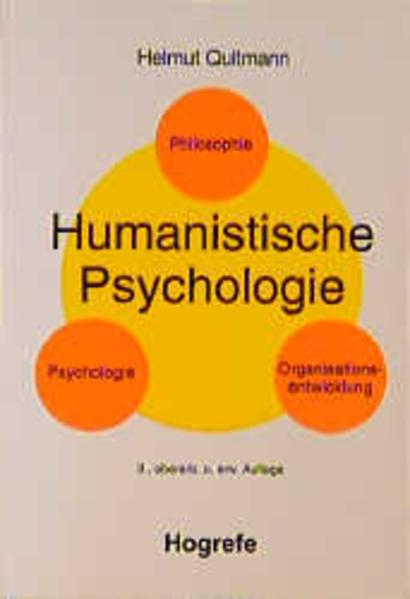 Humanistische Psychologie als Buch von Helmut Q...