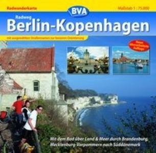 Radweg Berlin-Kopenhagen 1 : 75 000 als Buch von