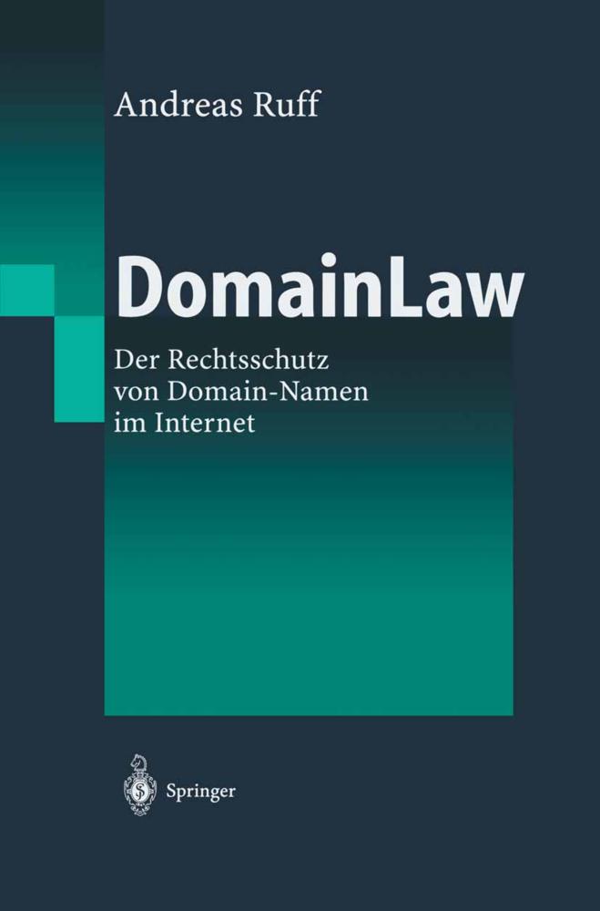DomainLaw als Buch von Andreas Ruff