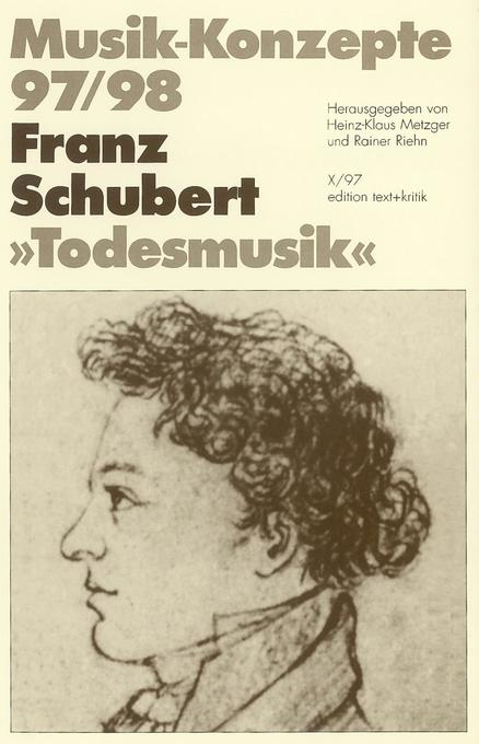 Todesmusik als Buch von Franz Schubert
