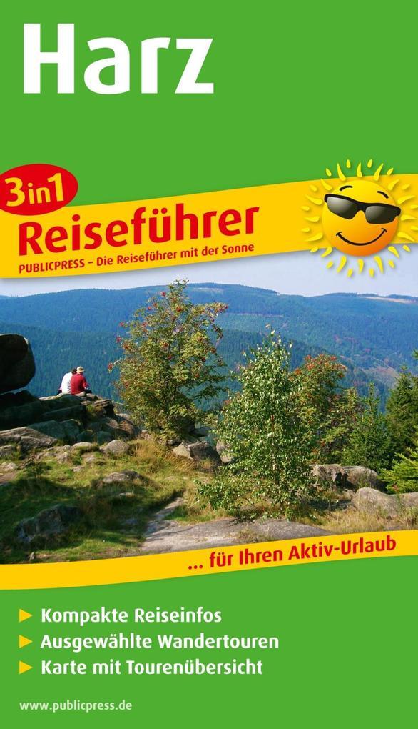 Reiseführer Harz als Taschenbuch von