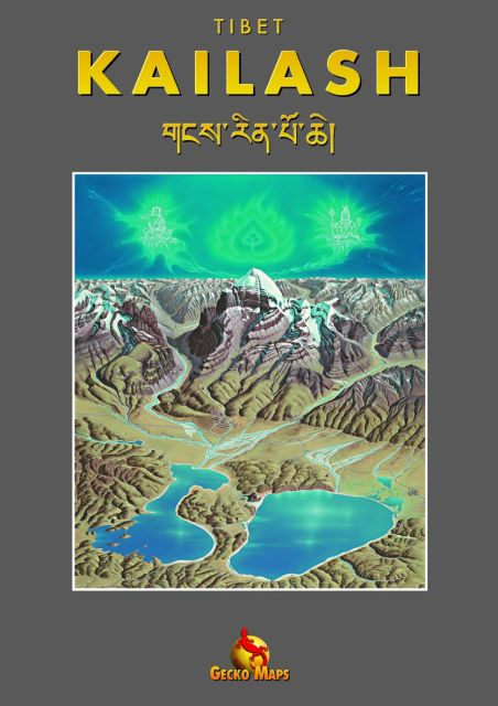 Kailash Panorama als Buch von