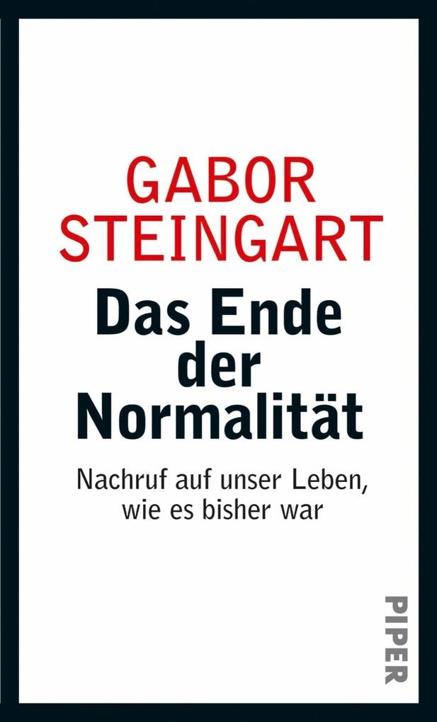 Das Ende der Normalität als eBook Download von ...