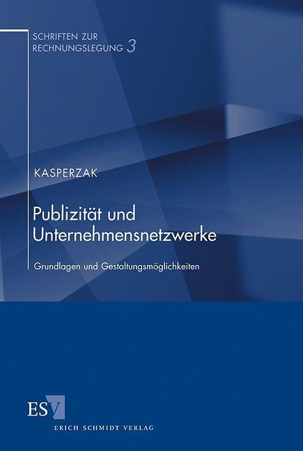 Publizität und Unternehmensnetzwerke als Buch v...