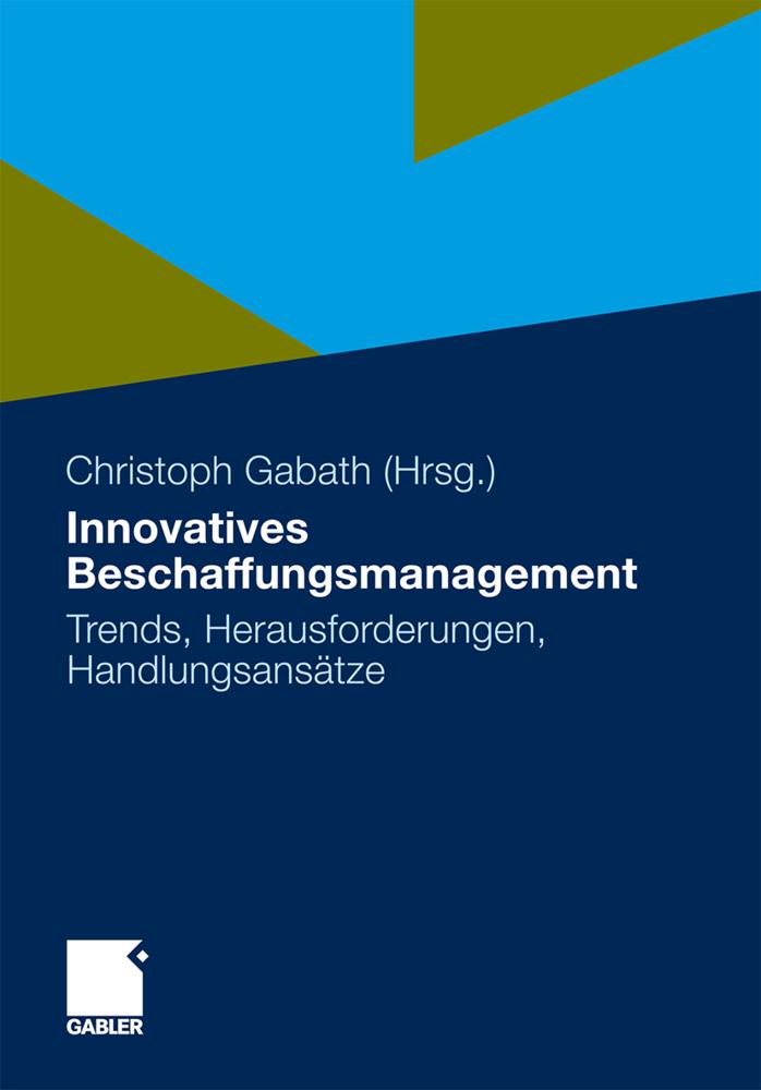 Innovatives Beschaffungsmanagement als Buch von