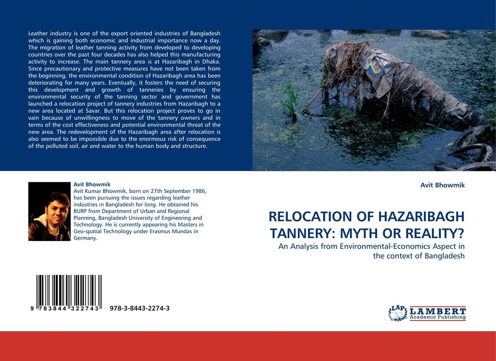 RELOCATION OF HAZARIBAGH TANNERY: MYTH OR REALI...