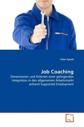 Job Coaching als Buch von Lilian Zysset
