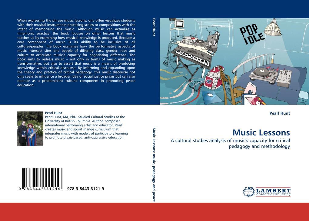 Music Lessons als Buch von Pearl Hunt