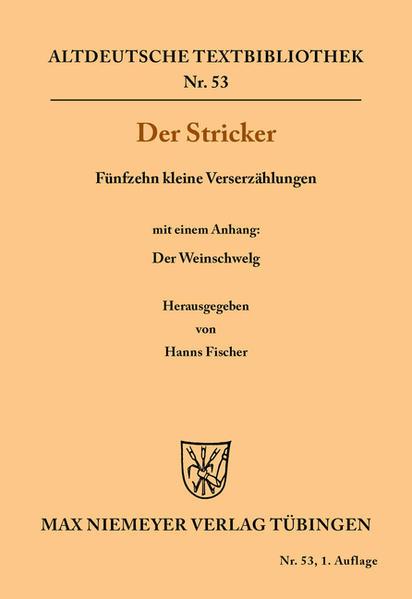 Fünfzehn kleine Verserzählungen als Buch von De...