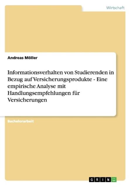 Informationsverhalten von Studierenden in Bezug...