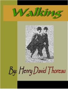 understanding the message of the author in walking a book by henry david thoreau