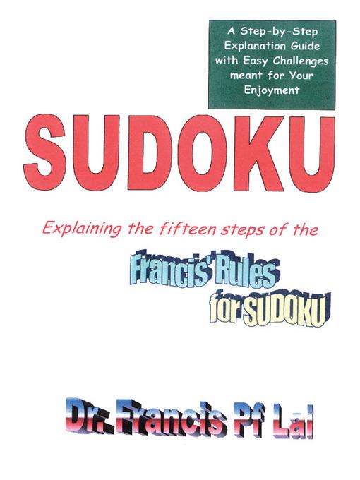 Sudoku als eBook Download von Francis Lai