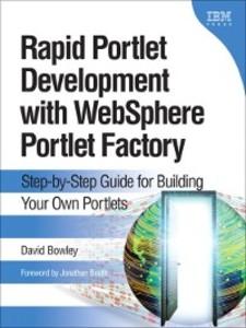 Rapid Portlet Development with WebSphere® ...