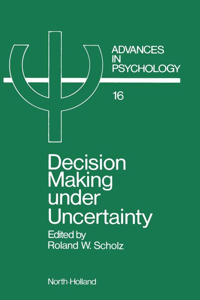 Decision Making under Uncertainty als eBook Dow...