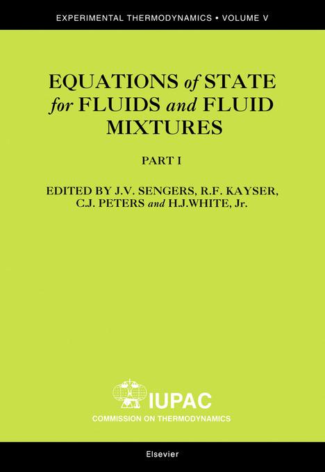 9780080531182 - J.V. Sengers, R.F. Kayser, C.J. Peters, H.J. White: Equations of State for Fluids and Fluid Mixtures als eBook Download von J.V. Sengers, R.F. Kayser, C.J. Peters, H.J. White - Buch