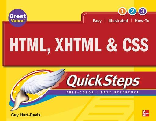 HTML, XHTML & CSS QuickSteps als eBook Download...