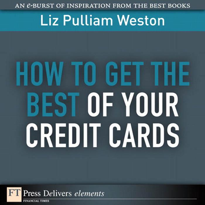 How to Get the Best of Your Credit Cards als eB...