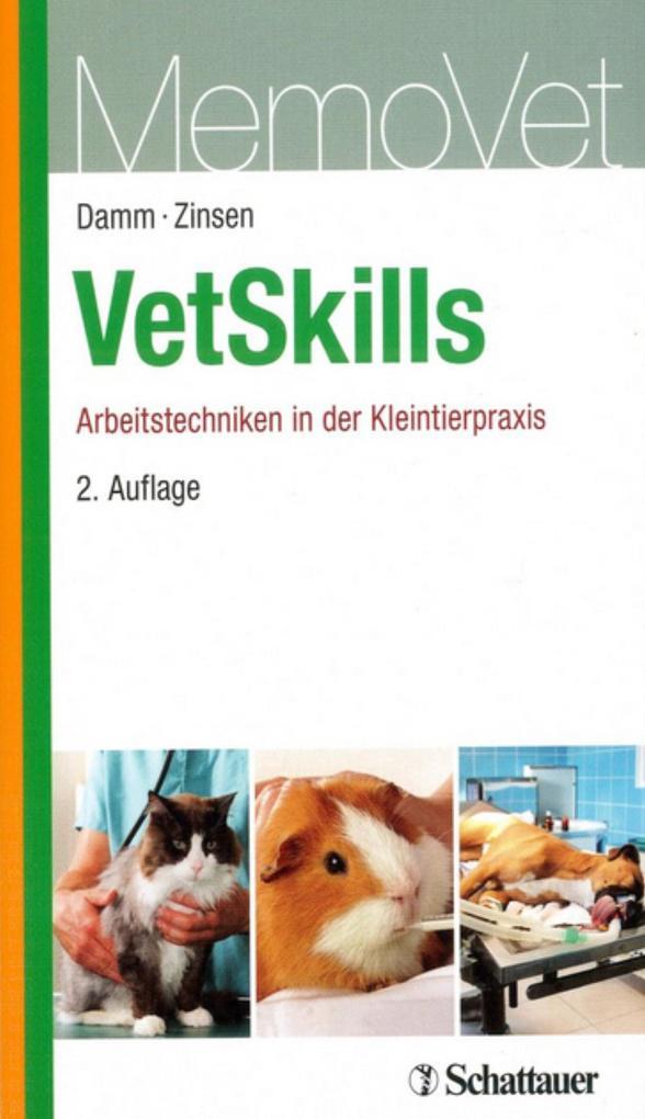 VetSkills als Buch von Anja Damm, Dirk Zinsen