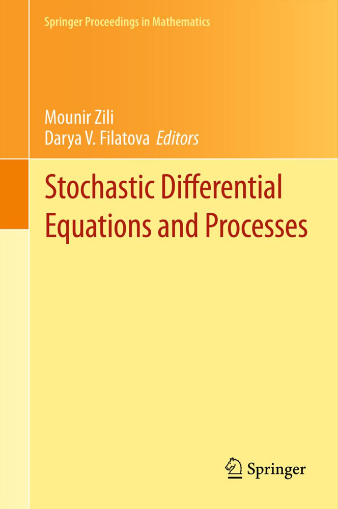 Stochastic Differential Equations and Processes...