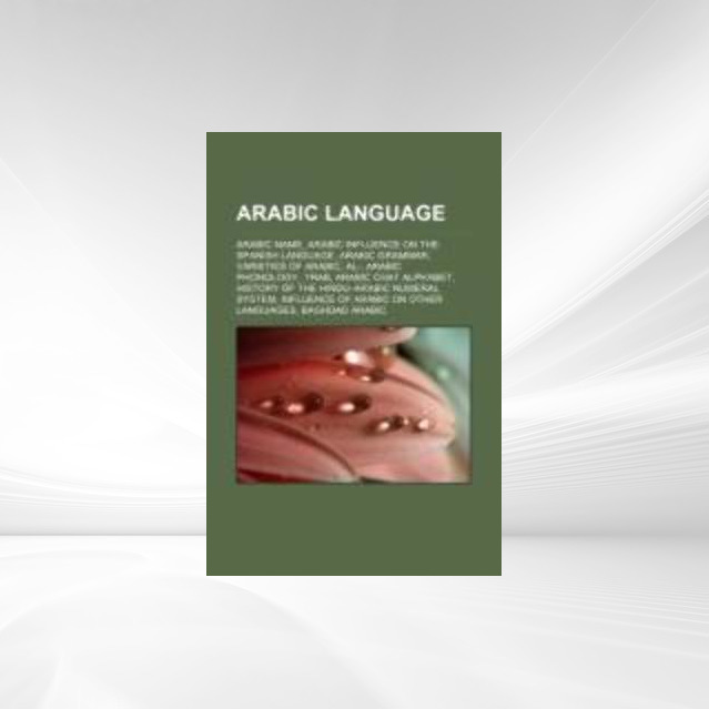 Arabic language als Taschenbuch von