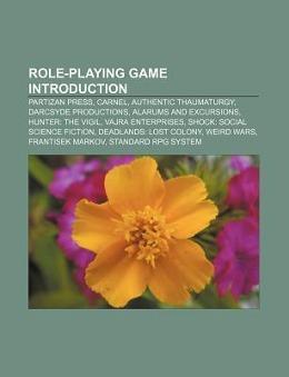 Role-playing game Introduction als Taschenbuch von