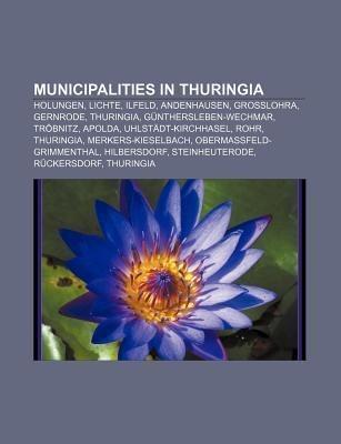 Municipalities in Thuringia als Taschenbuch von