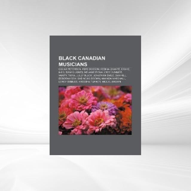 Black Canadian musicians als Taschenbuch von