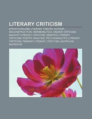 Literary criticism als Taschenbuch von