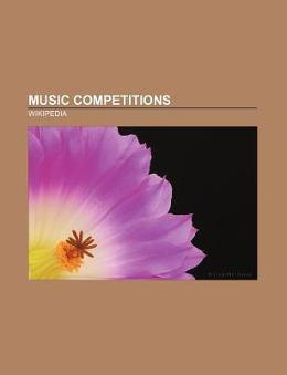 Music competitions als Taschenbuch von