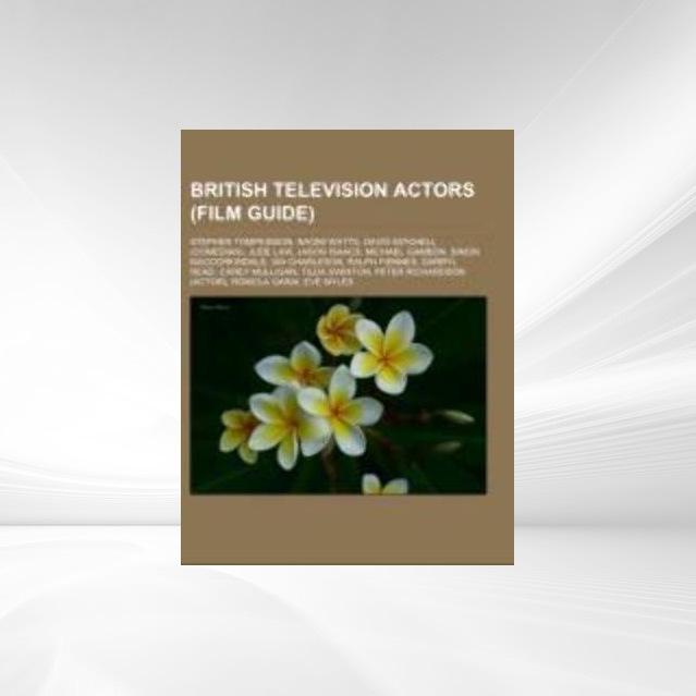 British television actors (Film Guide) als Tasc...
