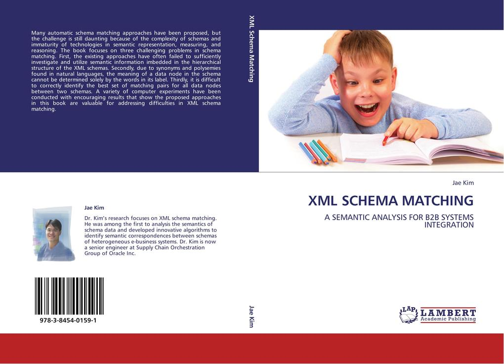XML SCHEMA MATCHING als Buch von Jae Kim
