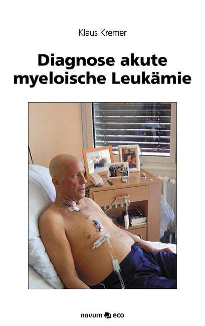 Diagnose akute myeloische Leukämie als Taschenb...
