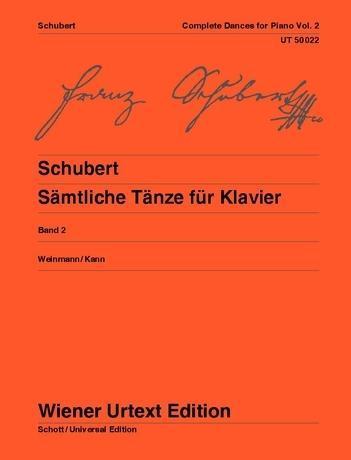 Sämtliche Tänze als Buch von Franz Schubert