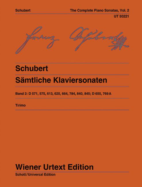 Sämtliche Klaviersonaten als Buch von Franz Sch...