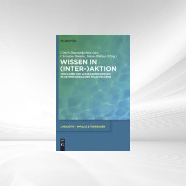 Wissen in (Inter-)Aktion als eBook Download von