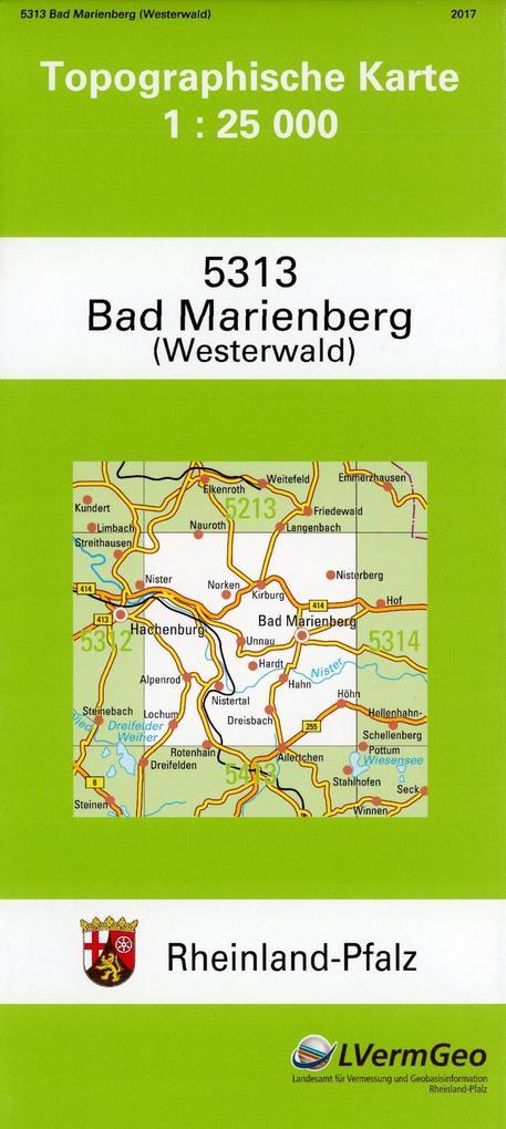 Bad Marienberg (Ww.) 1 : 25 000 als Buch von La...