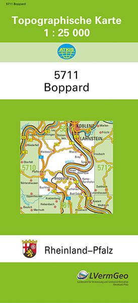 Boppard 1 : 25 000 als Buch von