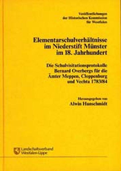 Elementarschulverhältnisse im Niederstift Münst...