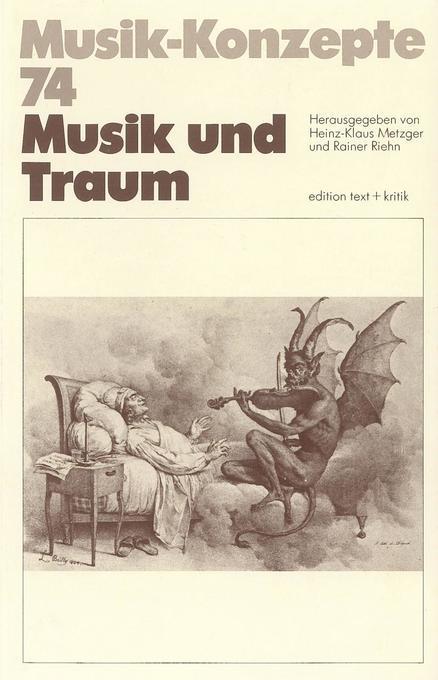 Musik und Traum als Buch von